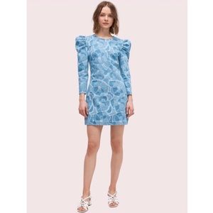 Kate Spade Abstract Peony Mini Dress